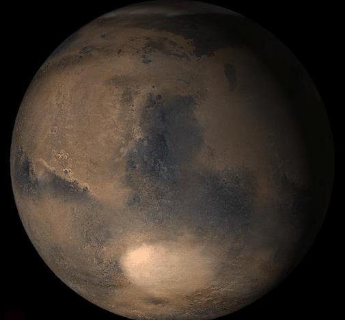 Northern Spring on Mars