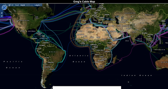 Greg Mahlknecht's world wire map